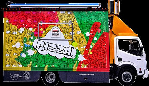 ماشین پیتزا